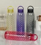 Plastic Multicolour 1000 ML Bottle - Set of 4 By Cello