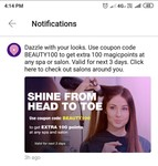 magicpin beauty salon code for 100 points