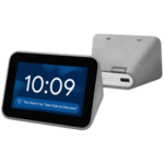Cheapest - Lenovo Smart Clock with Google Assistant