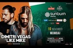 Sunburn- Dimitri Vegas Vip tickets worth Rs. 2000 at 40k cred coins