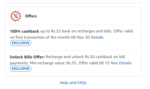 Recharge and unlock Rs.50 cashback on bill payments ( Acount ispacfic )