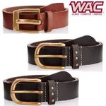 Wac by Wrangler Men's Leather Belt Min 70% to 80% off from Rs.161 @ Amazon