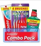 Supermarket - Colgate Active Salt combo 6 Brushes Mouthwash & Toothpaste