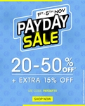 NNNOW PayDay Clothing 20-50% Off + Extra 15% Off