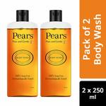 Pantry : Pears Pure and Gentle Body Wash, 250 ml (Pack of 2)