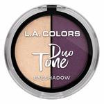 L.A. Colors Duo Tone Eyeshadow, Mermaid, 4.5g