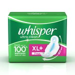 [Pantry]  Whisper Ultra Sanitary Pads XL Plus wings (7 Count) / XL (8 Count)