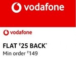 Collect Offer & Get Flat Rs. 25 Cashback On Vodafone Recharges