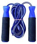 Belco Diablo Jump Rope / Skipping Rope/ Excercise Fitness Rope Plastic Foam Handle Blue (Pack Of 1) Rs. 60