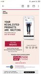10% additional instant discount on wishlisted product upto 500 on Tatacliq