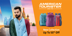 American Tourister Bags up to 73 % off &  10 % discount coupons