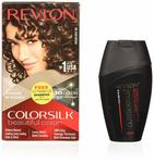 Revlon Colorsilk Hair Color Dark Brown 3n With Outrageous Shampoo, 200 ml with Free Outrageous shampoo 90 ml