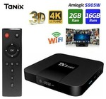 Android TX3 Mini TV Box 7.1 Amlogic S905W KD 17.6 WiFi 1+8GB/2+16GB 4K/ x96 mini