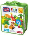 Mega Bloks Build a Dinosaur CNV30  (Multicolor)