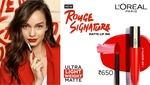 Loreal rouge signature lipstick - 20% off