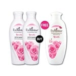 Buy 2 Romantic Body lotions (250gm) & Get 1 Romantic shower Gel (250 gm) Free