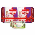 Huggies Diaper & Wipes combos pack + Additional Rs 250 off coupon