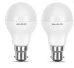 Halonix 7 W Round B22 LED Bulb  (Yellow, Pack of 2)