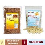 Scorist Dry Fruit Combo Cashew 500g + Almonds 500g @ Rs.719