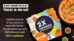MojoPizza- 100% Cashback on Order Amount + (50% Discount & 150 Mojo Cash)