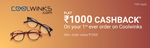 Phonepe :- Get flat ₹1000 cashback on your first ever Coolwinks order Minimum order value required to avail the offer is ₹1000