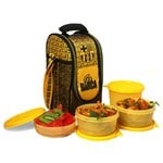 Cello FCB Barcelona Plastic Lunch Box Set, 4-Pieces at Rs.238