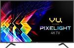 Vu Pixelight 126cm (50 inch) Ultra HD (4K) LED Smart TV with cricket mode  (50-QDV)