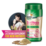 Free Sample Of Zandu Striveda Lactation Supplement (210gm) pack size worth Rs.225