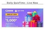 Amazon Quiz Answers - 16th December | Win Rs.5000 Amazon Pay Balance