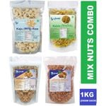 Mix Dry Fruits Combo @ just Rs. 1119 + Free Shipping | Use Code: OFFER20