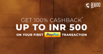 Get 100% Cashback upto Rs.500 on your First Paypal Transaction At Beardo ( New Paypal User)