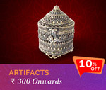 10% off on Silver Artifacts