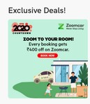 Oyo Exclusive : Get Rs 400 OFF On Zoomcar on every Oyo rooms booking