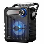 Zebronics Zeb-Buddy Portable BT Speaker with mSD, USB, AUX, FM, LED Display & Carrying Handle