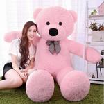 (Buy  fast  )Click4deal Soft Teddy Bear Pink , 5 Feet