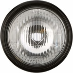 Uno Minda HL-5110DM Head Light-Black Rim for Bajaj 3W RE Old Rs. 87