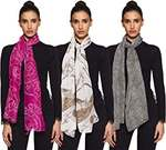 80% Off - Women's Scarf (Pack of 3) at Rs.199