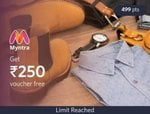 Myntra gv back in stock at normal rate | 250 for 500 points | 500 for 1000 points