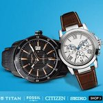 Wrist Watches Min 70% Off from Rs.118 @ Flipkart