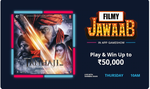 Filmy Jawaab Bollywood quiz - Live on 10AM on paytm app ||Play & Win upto 50k