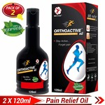 Dr.Trust -- Orthoactive Pain Relief Oil (Pack of 2) at Flat 58% Off for Rs.249 [MRP Rs.500]  For Joint Pain, Muscle Pain, Back Pain, Knee Pain etc.