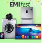 Get 10% instant discount on Yes bank / IndusInd Credit Card EMI on purchase of select products on Amazon