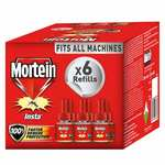 Mortein Insta5 Vaporizer Refill - 35 ml (Pack of 6) Rs.324
