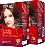 Streax Tender Loving Soft Gel Hair Colour Mahogany Hair Color  (4.56)