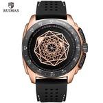 Watches Men Sports Watches Military Quartz Wrist Men Watch Waterproof Clock Male Relogio Masculino Silicone Black