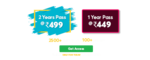 Never Before Deal Buy 2yrs Test pass @499