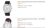Aveiro Analog White Dial Men's Watch-AV4MULTILTR from 156