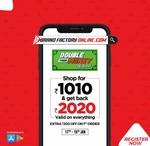 BrandFactoryOnline Double Money Weekend 17-19 Jan :- Shop For 1010₹ & Get 2020₹ back || Extra 200₹ off on 1st Order