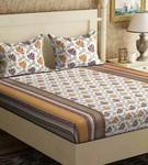 100 % Pure cotton Double Bedsheet
