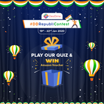 Republic Day Contest - Win Amazon Gift Cards (Facebook & Telegram exclusive)